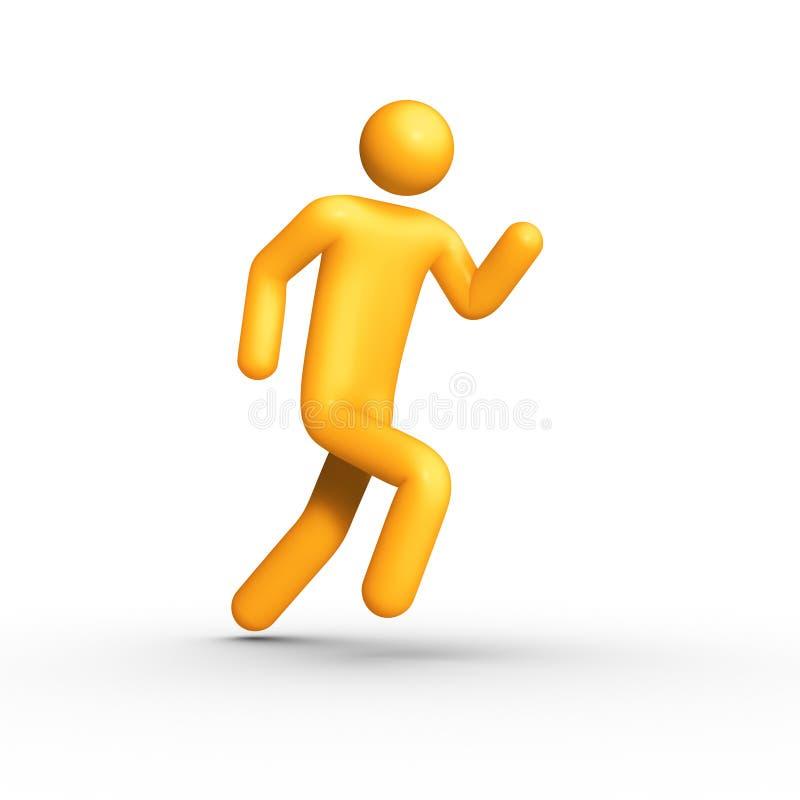 τρέξιμο διανυσματική απεικόνιση