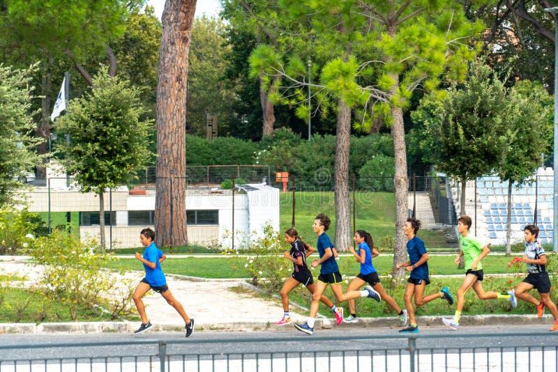 Τρέξιμο Joggers στοκ φωτογραφίες