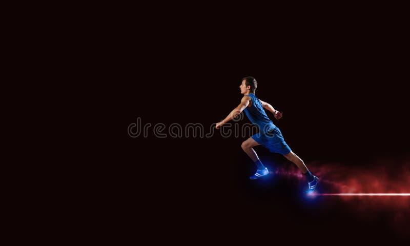 τρέξιμο sportman στοκ φωτογραφίες