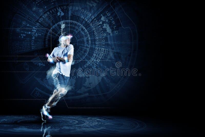 Τρέχοντας άτομο στοκ εικόνες