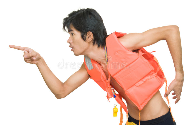 τρέχοντας επισήμανση κινδύ στοκ φωτογραφίες
