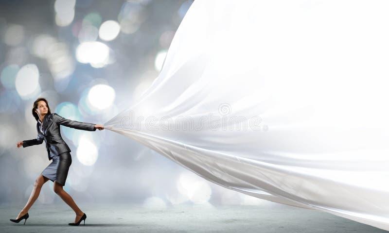 Τρέχοντας επιχειρηματίας στοκ φωτογραφία με δικαίωμα ελεύθερης χρήσης