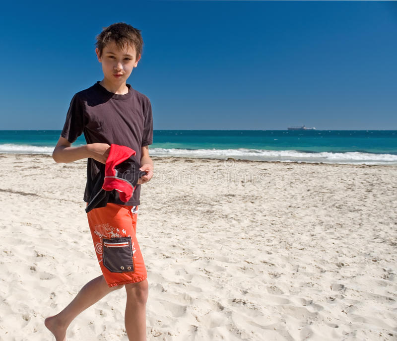 τρέχοντας νεολαίες αγο& στοκ φωτογραφία με δικαίωμα ελεύθερης χρήσης
