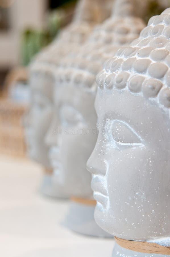 Τρία κεφάλια του Βούδα στοκ φωτογραφία με δικαίωμα ελεύθερης χρήσης
