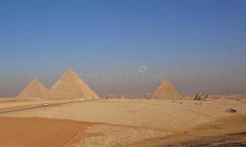 Τρία πυραμίδες και οροπέδιο στοκ φωτογραφία με δικαίωμα ελεύθερης χρήσης
