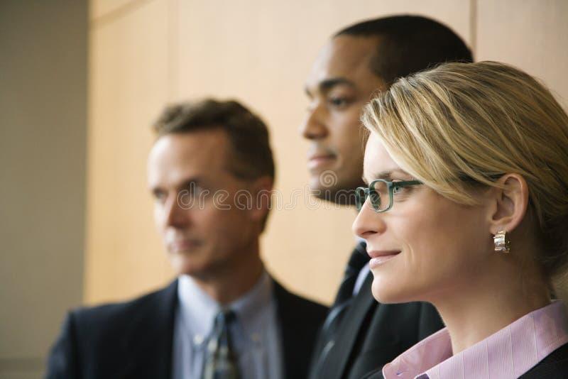 Τρία Businesspeople στοκ εικόνες