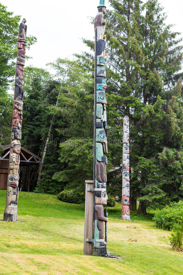 Τρία Totam Πολωνοί στο δάσος στοκ εικόνες με δικαίωμα ελεύθερης χρήσης
