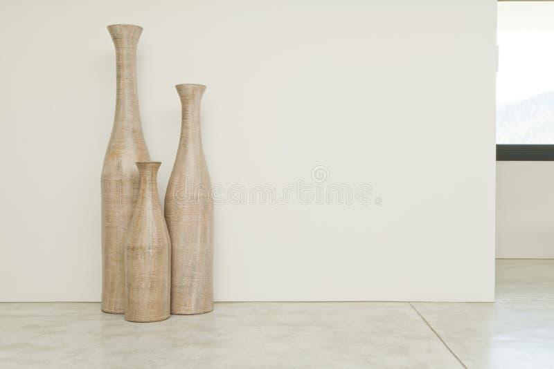 Τρία vases στοκ φωτογραφίες με δικαίωμα ελεύθερης χρήσης