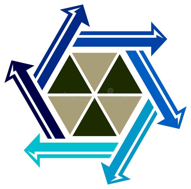τρίγωνα βελών ελεύθερη απεικόνιση δικαιώματος