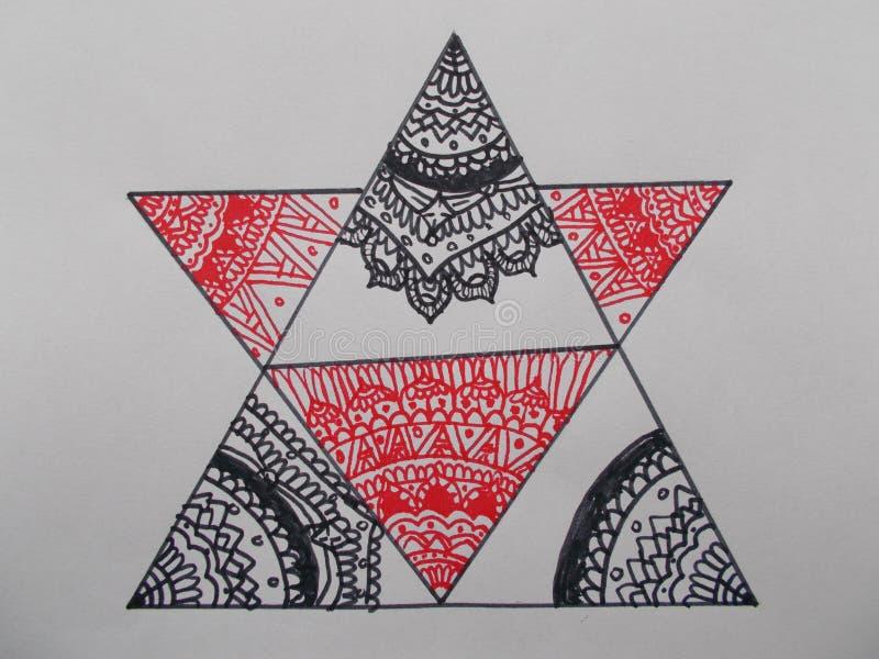 Τρίγωνα που ενώνονται στοκ φωτογραφία με δικαίωμα ελεύθερης χρήσης