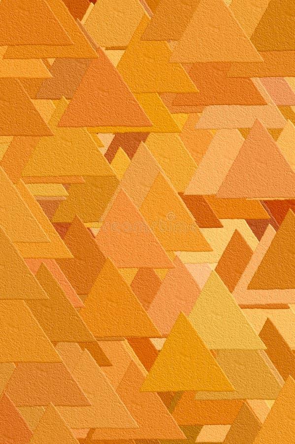 τρίγωνα προτύπων διανυσματική απεικόνιση