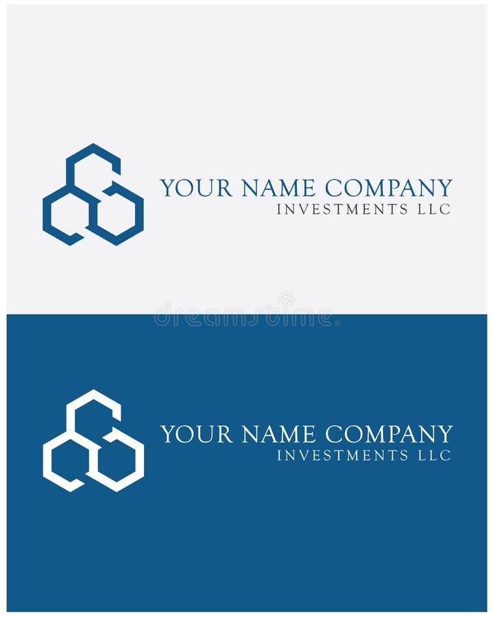 Τρίτροχο λογότυπο στο μπλε στοκ εικόνες με δικαίωμα ελεύθερης χρήσης