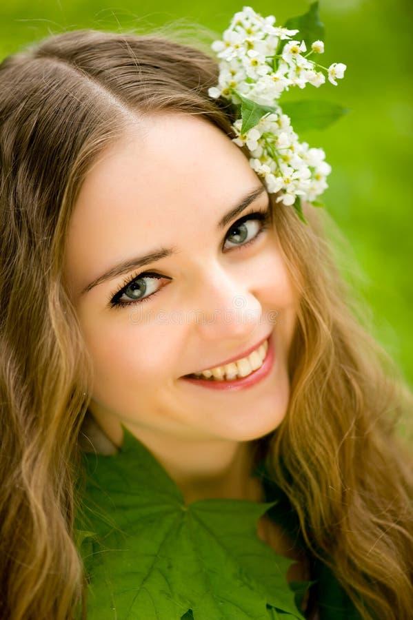 τρίχωμα κοριτσιών λουλο& στοκ εικόνες με δικαίωμα ελεύθερης χρήσης