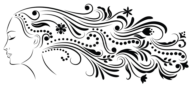 Download τρίχωμα που διαμορφώνετα&i διανυσματική απεικόνιση. εικονογραφία από καλλυντικά - 13175822