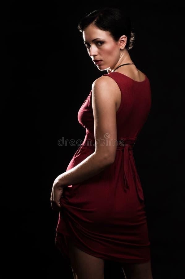 τρίχωμα brunette κοντό στοκ εικόνες με δικαίωμα ελεύθερης χρήσης