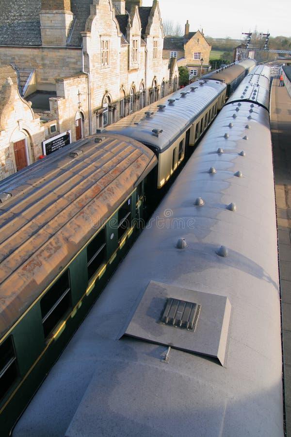 τραίνα σταθμών στοκ φωτογραφίες με δικαίωμα ελεύθερης χρήσης
