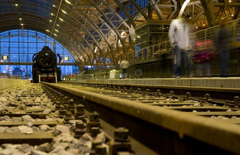 τραίνο ατμού μηχανών στοκ εικόνα