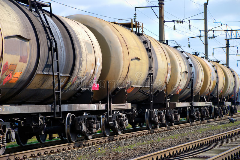 τραίνο δεξαμενών μαζούτ στοκ φωτογραφία με δικαίωμα ελεύθερης χρήσης