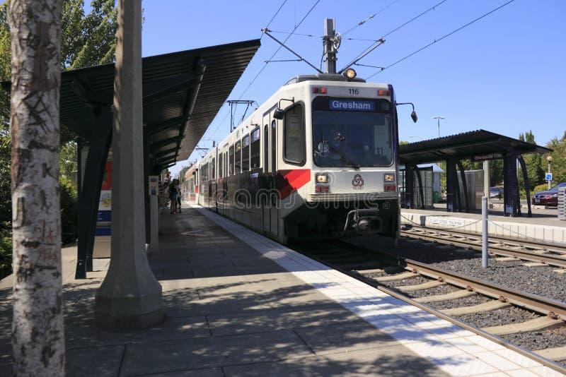 τραίνο διαδρομής σταθμών α στοκ φωτογραφίες