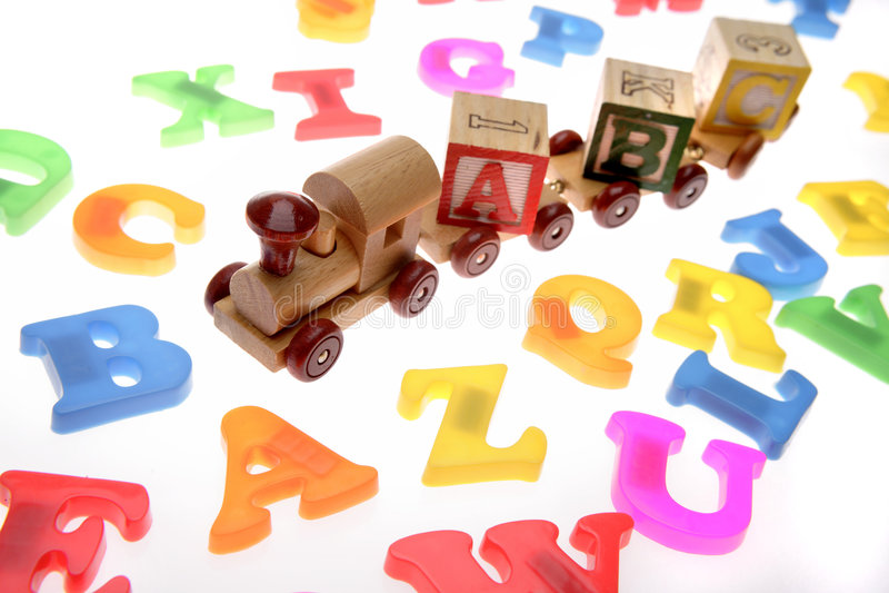 τραίνο παιχνιδιών επιστο&lambda στοκ εικόνα με δικαίωμα ελεύθερης χρήσης