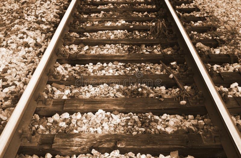 Download τραίνο ραγών στοκ εικόνα. εικόνα από σύμπραξη, παλαιός - 13177609