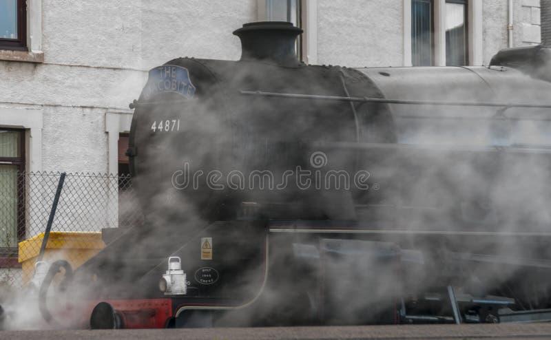 Τραίνο ρευμάτων Jacobite στοκ εικόνες με δικαίωμα ελεύθερης χρήσης