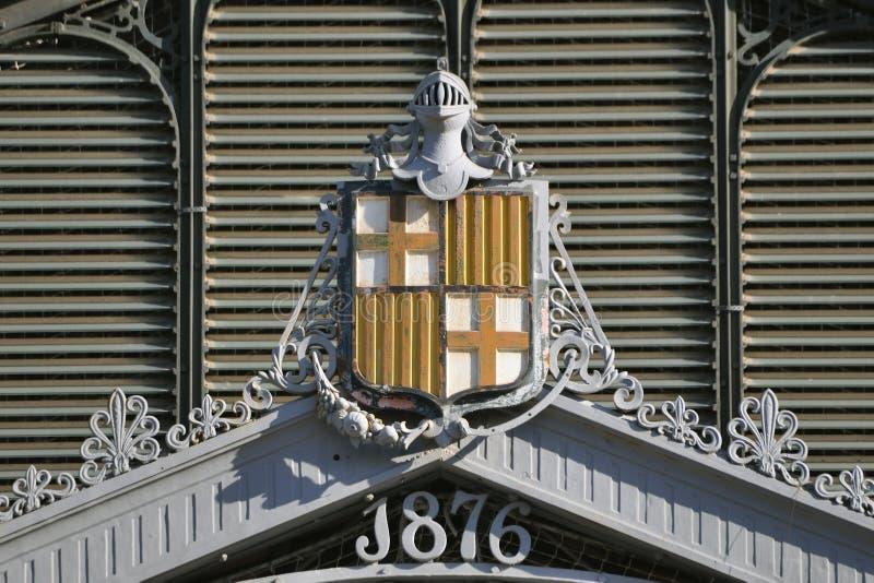 τραίνο σταθμών franca της Βαρκε&l στοκ φωτογραφίες με δικαίωμα ελεύθερης χρήσης