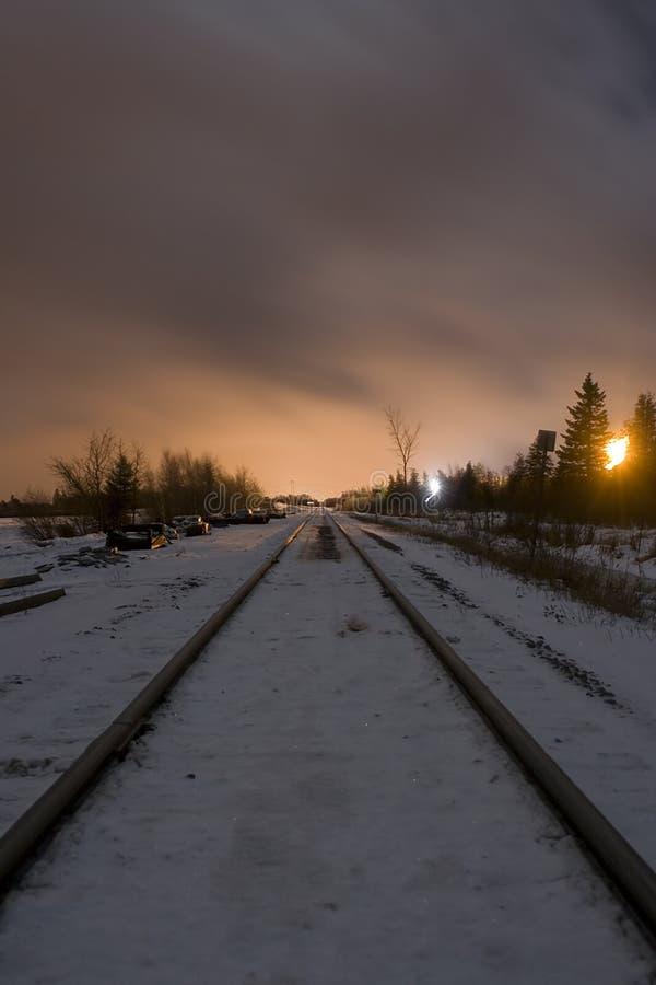 Τραίνο στο ορυχείο ανθρακικού καλίου στοκ εικόνα με δικαίωμα ελεύθερης χρήσης