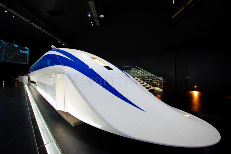 τραίνο της Ιαπωνίας maglev στοκ εικόνες