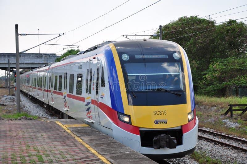 Τραίνο KTM Komuter στοκ εικόνα με δικαίωμα ελεύθερης χρήσης