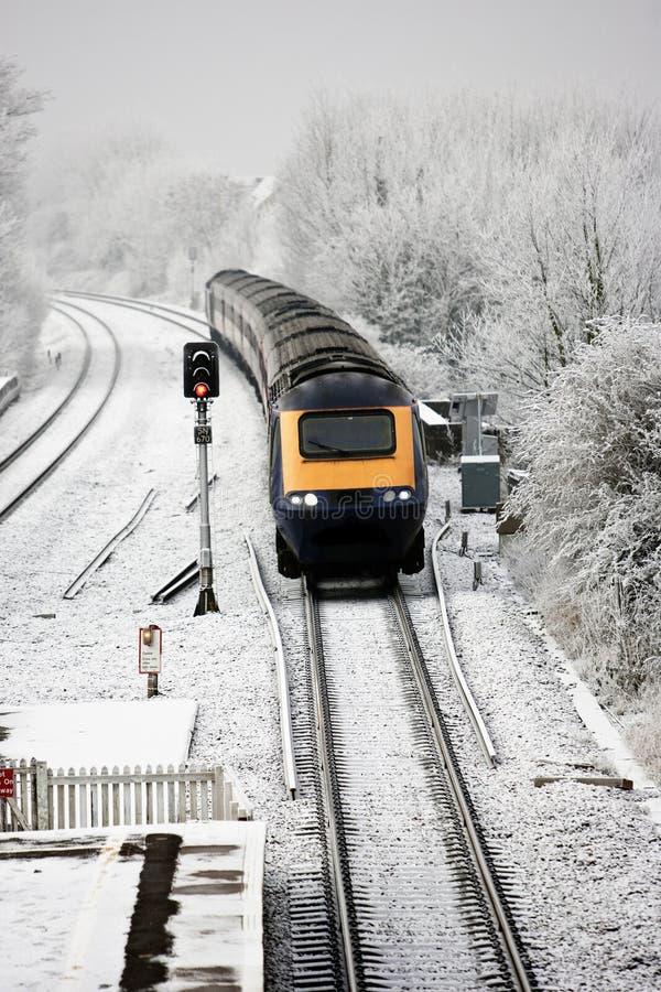 τραίνο UK στοκ φωτογραφία με δικαίωμα ελεύθερης χρήσης