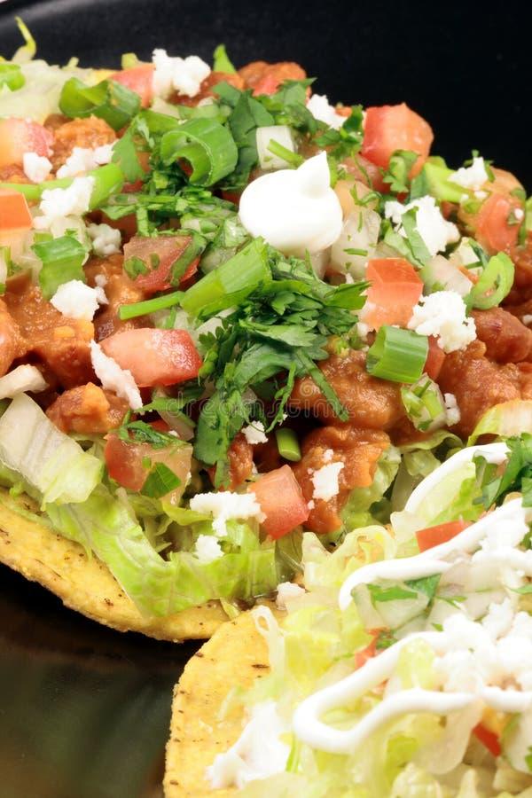 τραγανά μεξικάνικα tostadas στοκ εικόνα