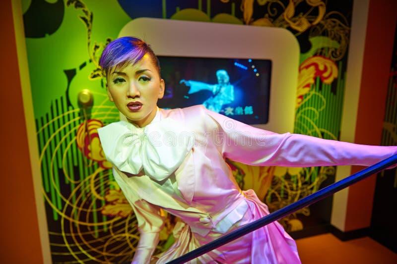 Τραγουδιστής του Χογκ Κογκ AnitaMui στοκ εικόνα με δικαίωμα ελεύθερης χρήσης