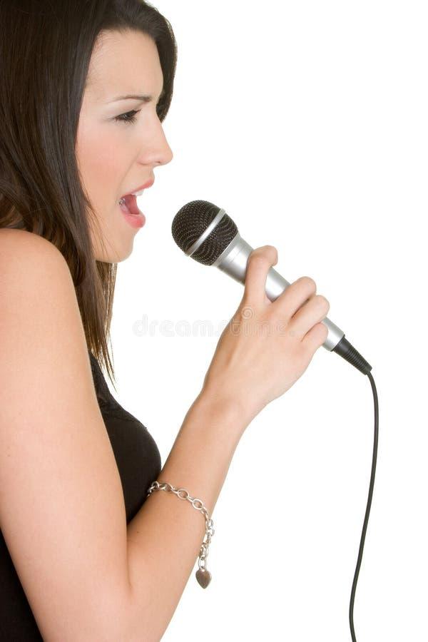 τραγούδι κοριτσιών στοκ φωτογραφίες