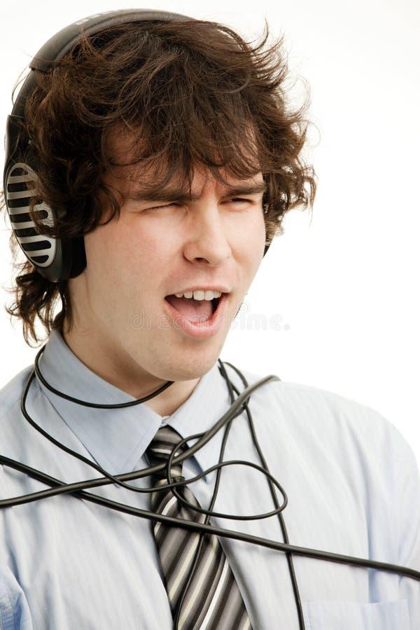 Download τραγούδι στοκ εικόνα. εικόνα από νεολαία, εκστατικός - 17051149