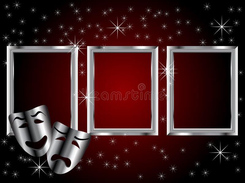 τραγωδία θεάτρων μασκών κ&omega ελεύθερη απεικόνιση δικαιώματος