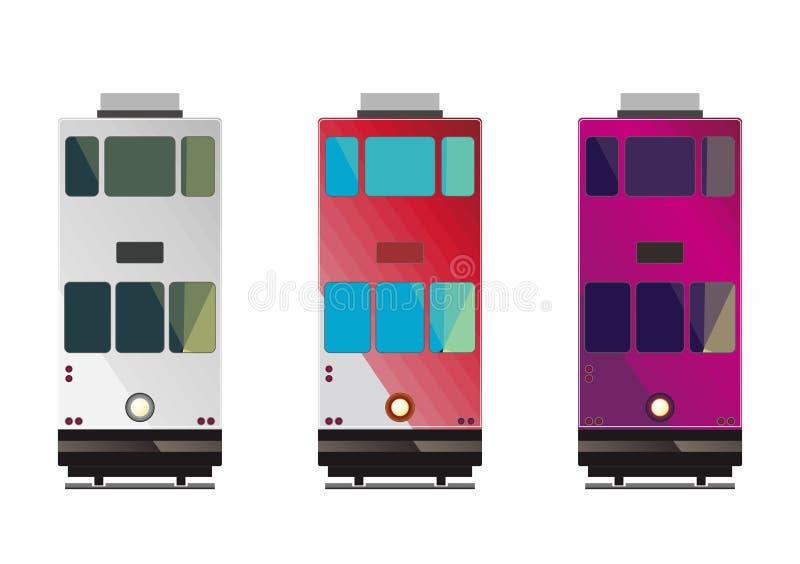 Τραμ Χονγκ Κονγκ απεικόνιση αποθεμάτων
