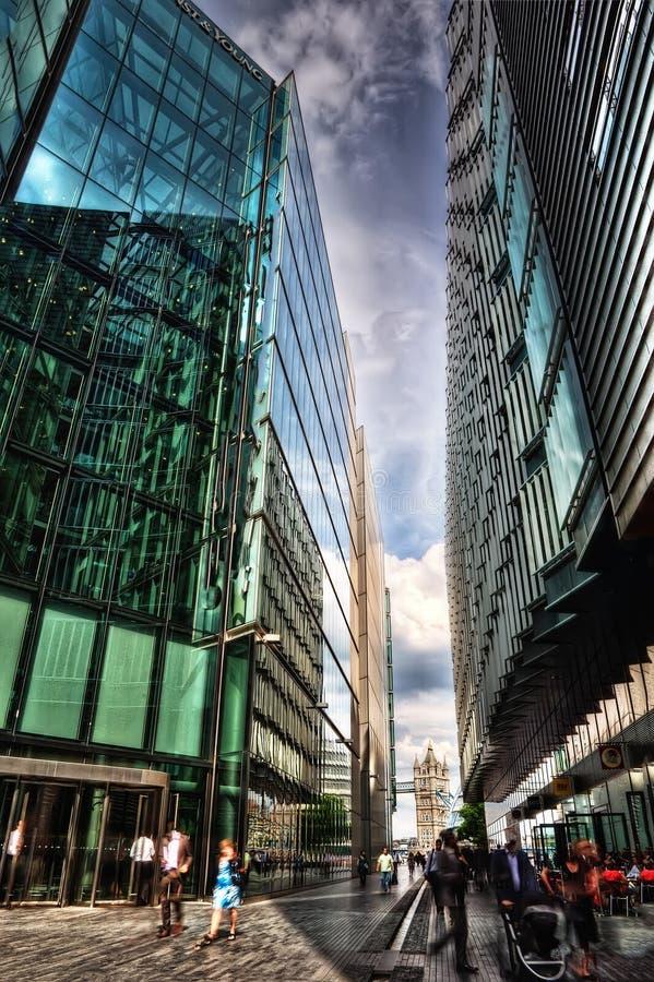 Τραπεζική οδός του Λονδίνου στοκ εικόνες με δικαίωμα ελεύθερης χρήσης