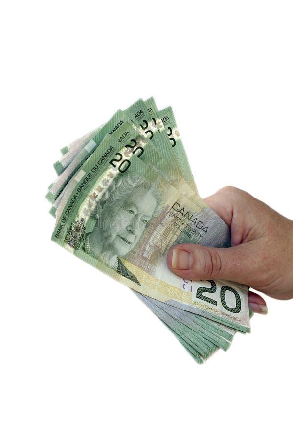 τραπεζογραμμάτια Καναδό&sigm στοκ εικόνες