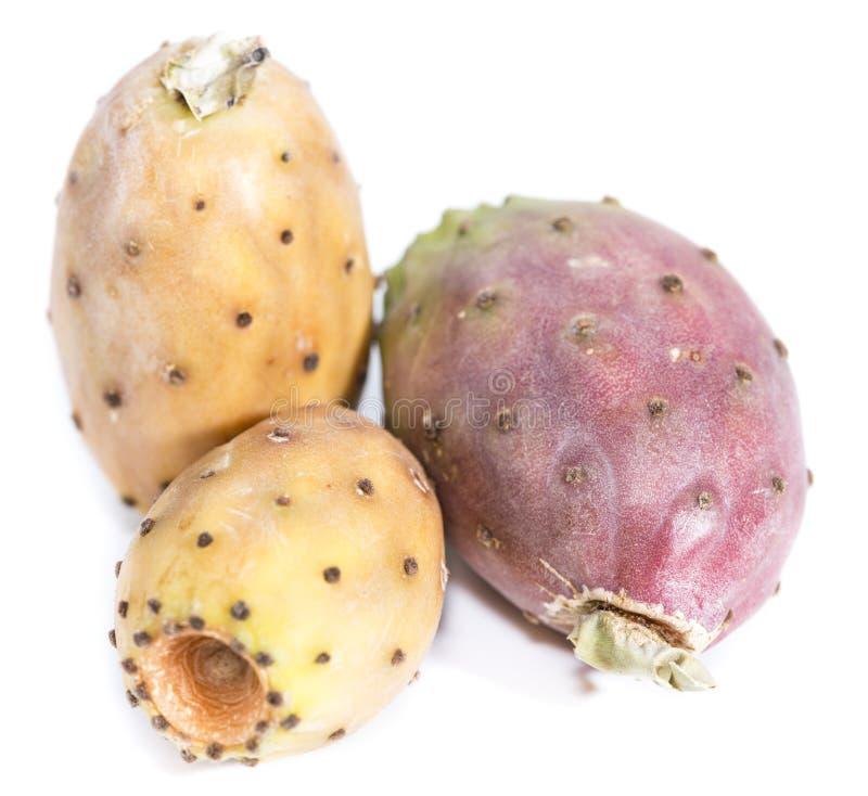 Τραχιά αχλάδια στο λευκό στοκ εικόνα