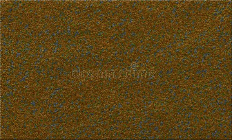Τραχιά καφετιά διαστισμένη σύσταση αφηρημένο φορεμένο καιρός υπόβαθρο διανυσματική απεικόνιση