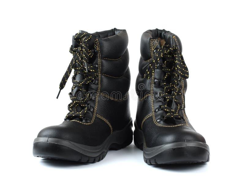 τραχιά παπούτσια ασφάλειας στοκ φωτογραφίες