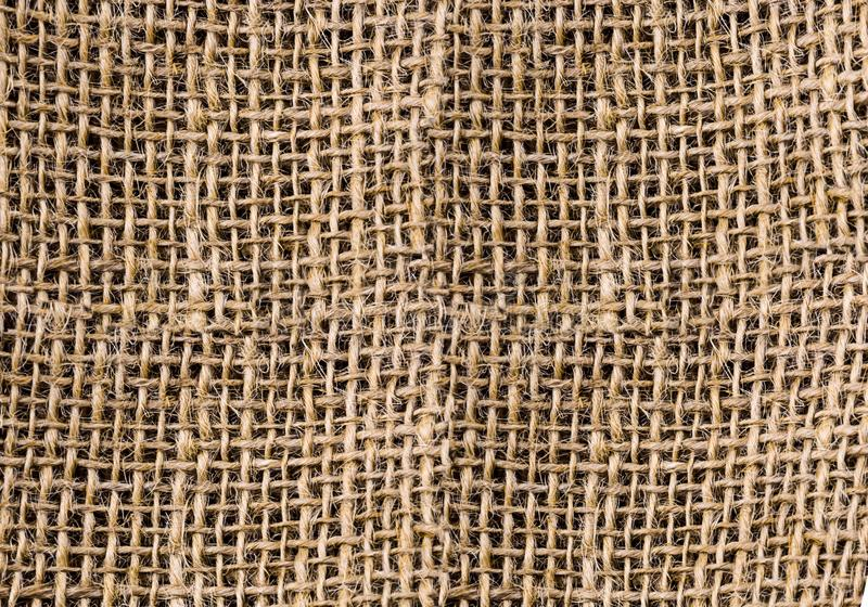 Τραχιά burlap υφάσματος φυσική παραδοσιακή αποθήκευση καμβά του vegeta στοκ φωτογραφίες