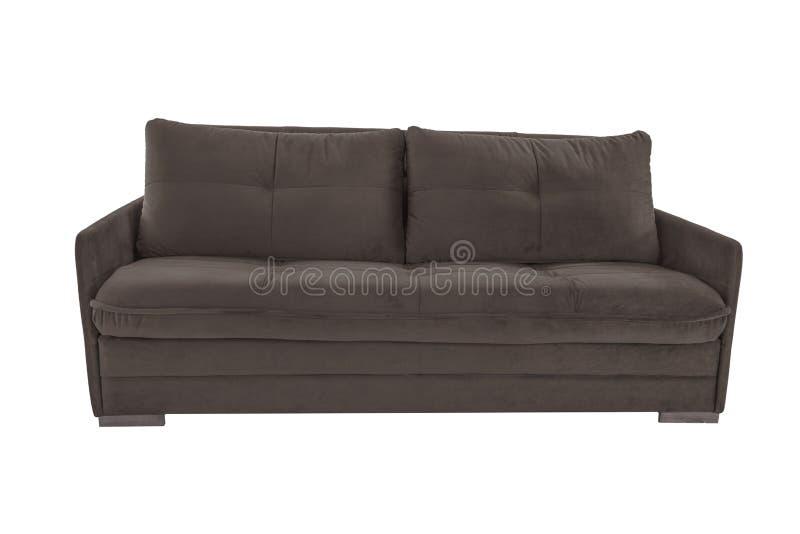 Τρεις άνετος καφετής καθισμάτων στοκ φωτογραφία