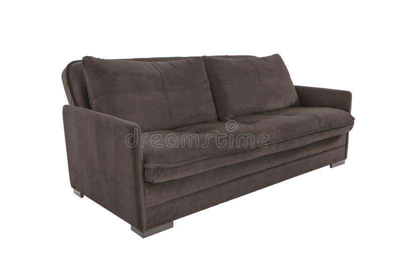 Τρεις άνετος καφετής καθισμάτων στοκ εικόνα με δικαίωμα ελεύθερης χρήσης