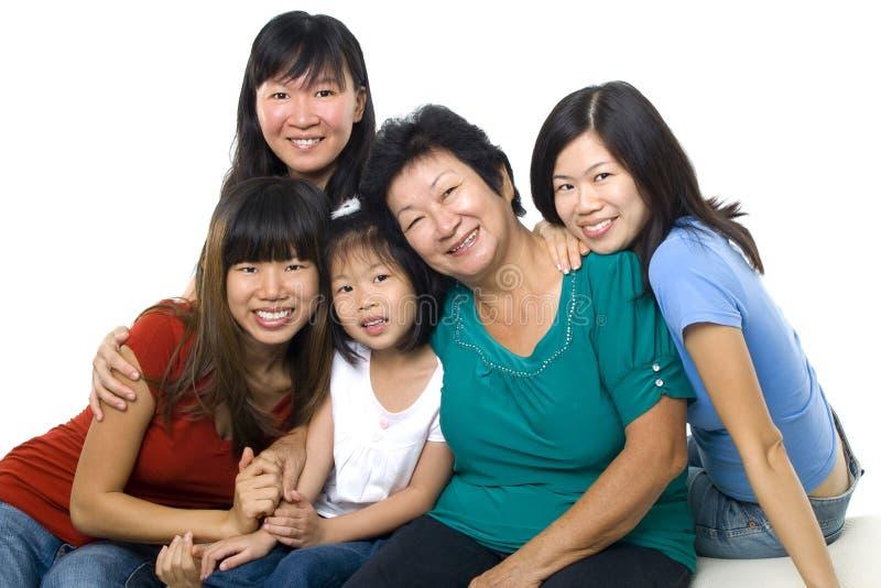 Τρεις γενεές στοκ φωτογραφία με δικαίωμα ελεύθερης χρήσης