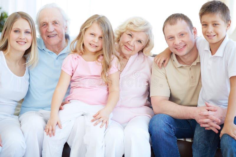 Τρεις γενεές στοκ εικόνες με δικαίωμα ελεύθερης χρήσης