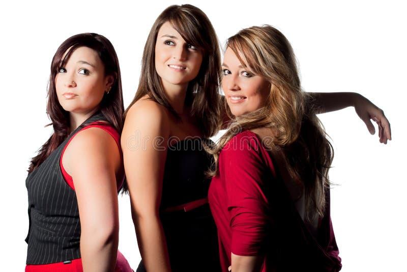 τρεις νεολαίες γυναικ στοκ φωτογραφίες με δικαίωμα ελεύθερης χρήσης