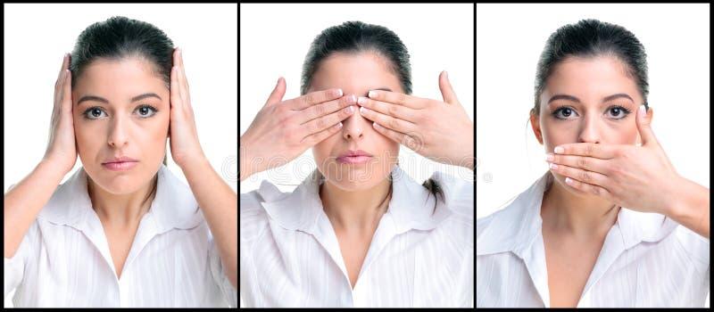 τρεις σοφές γυναίκες στοκ φωτογραφίες