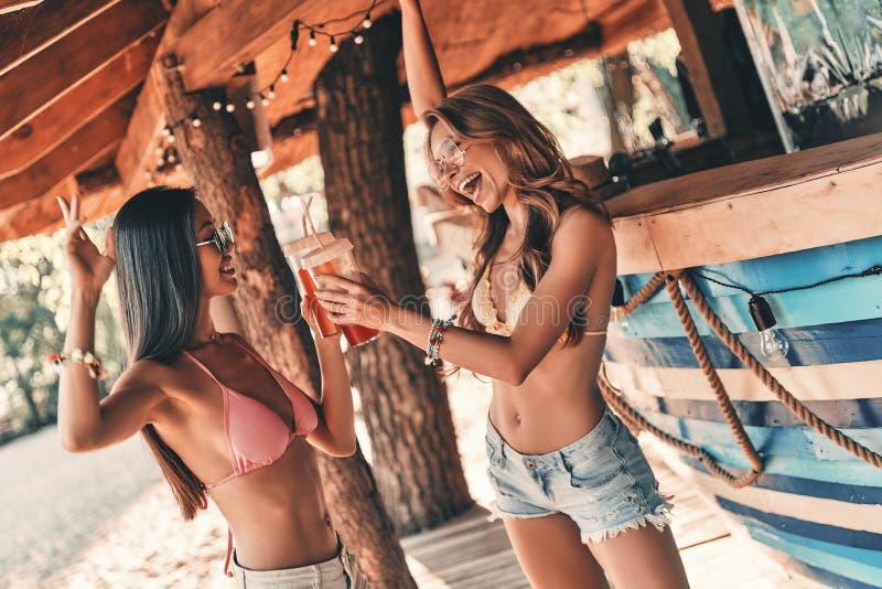 Τρελλά κορίτσια κομμάτων στοκ εικόνα με δικαίωμα ελεύθερης χρήσης